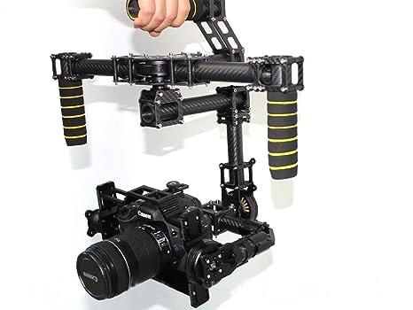 yiguo 3 ejes HHG5D EagleEye cámara réflex digital Handheld Gimbal ...