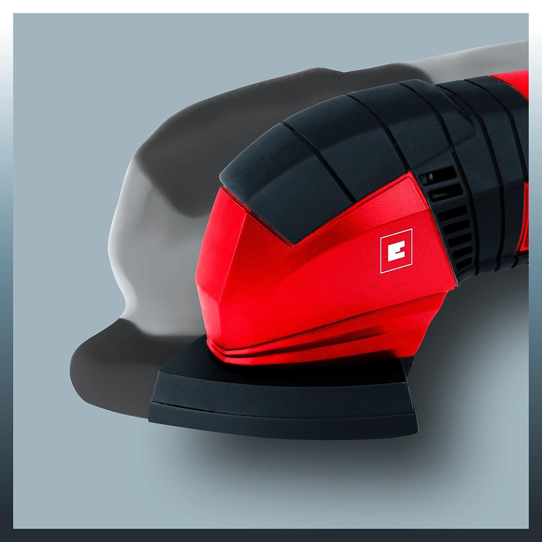 Red 190 W One Size 230 V Einhell TC-DS 19 Delta Sander