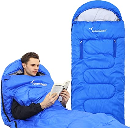 Lets Camp Childs Sleeping Bag with Pillow
