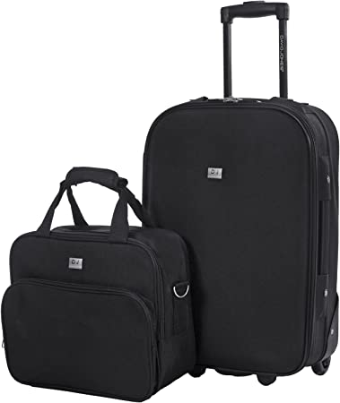 Unisexe Adulte vol approuvé valise trolley sac a main Luggage Holdall suite étui Sac