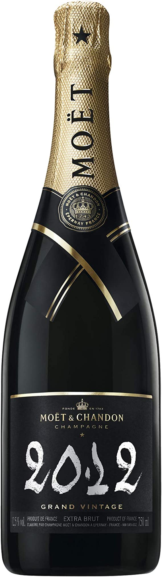 MoËT &Amp; Chandon - Champagne moã«t & chandon estuche grand vintage 2008: Amazon.es: Alimentación y bebidas