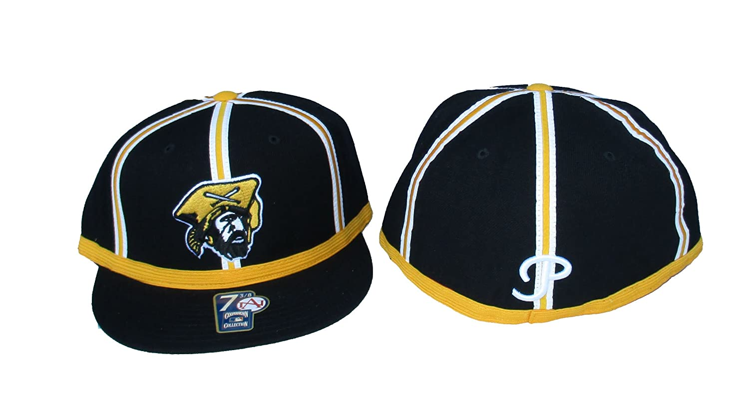 American Needle Pittsburgh Pirates Big BOY Fitted Size 7 3//8 Cooperstown Collection Hat Cap