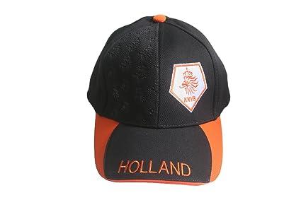 Amazon.com: Holanda Países Bajos Negro y Naranja Logo KNVB ...