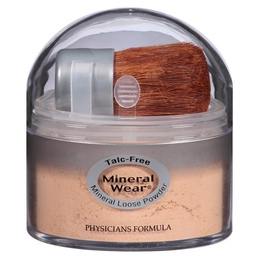Physicians Formula Mineral Wear Talc-Free Loose Powder, Natural Beige, 0.49 Ounce 44386024533