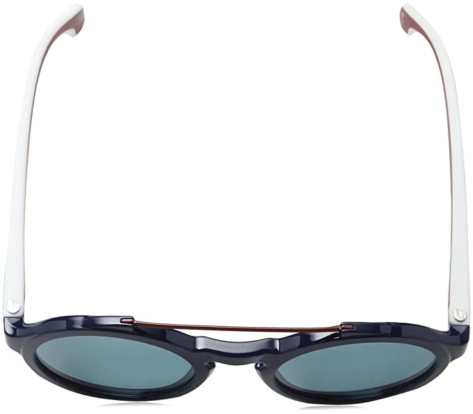 Carrera Flag Plastic Frame Blue Lens Unisex Sunglasses 1002S00JUKU5124145