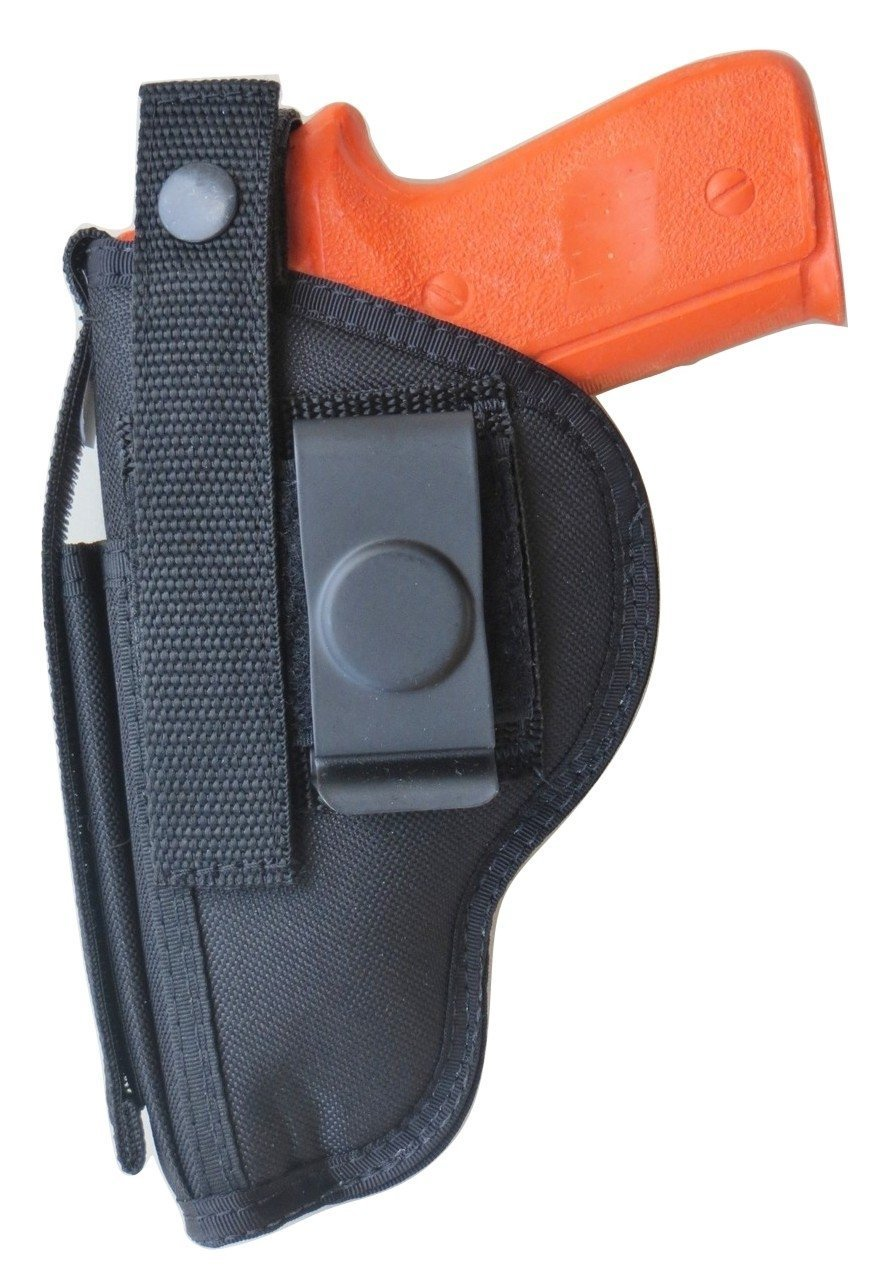 Holster for Ruger Security 9 Pistol with Extra Mag Pouch on Front Seam