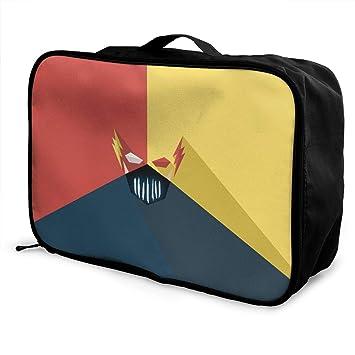 9d6f8efeea61 Amazon.com | Fl-ash Packing Cubes Travel Duffel Bag Handle Makeup ...