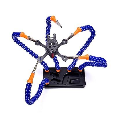 El ayudante de la estaci¨®n de soldadura de TAOKE tiene 5 brazos flexibles