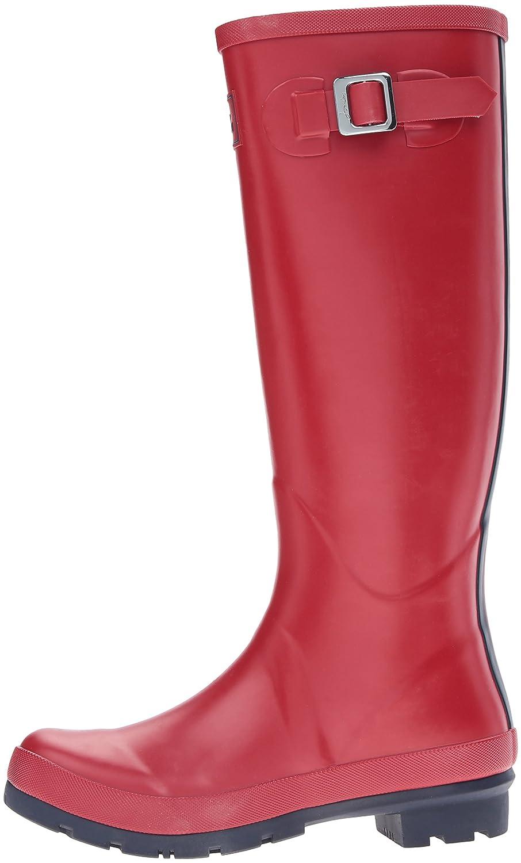 Joules Women's Field Welly Rain Boot B077N41MXD Women's 5|Red