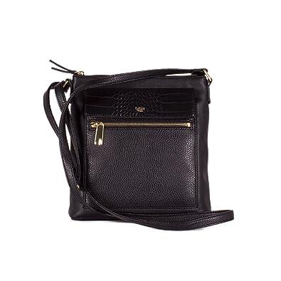 f761d040af Tutilo Women Handbag Straight Talk N S Crossbody Bag Black  Handbags   Amazon.com