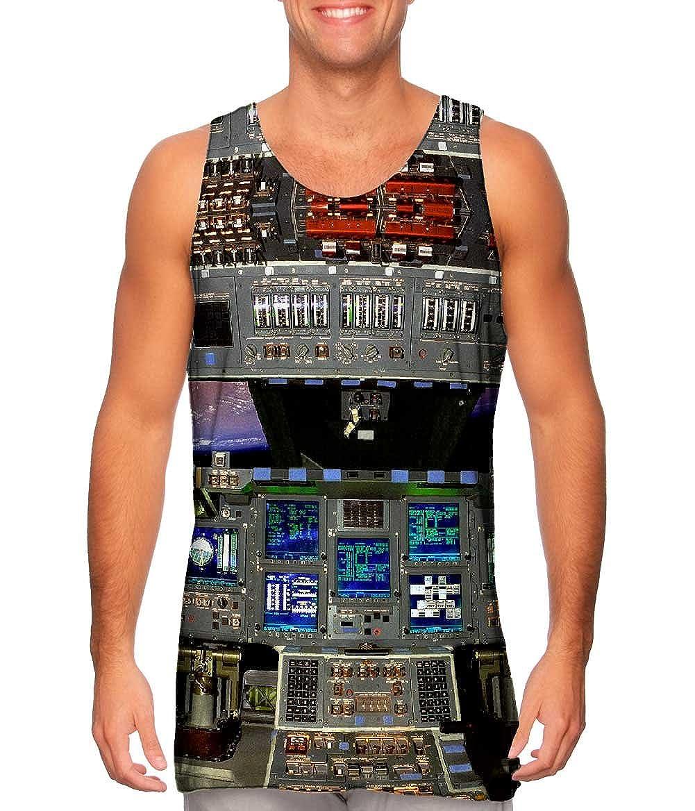 Tshirt Mens Tank Top Yizzam Space Shuttle Glass Cockpit