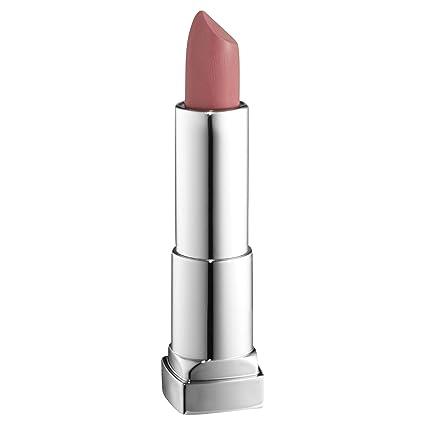 Maybelline New York Color Sensational Blushed Nudes, Barra de Labios, Tono 207 Pink Flling