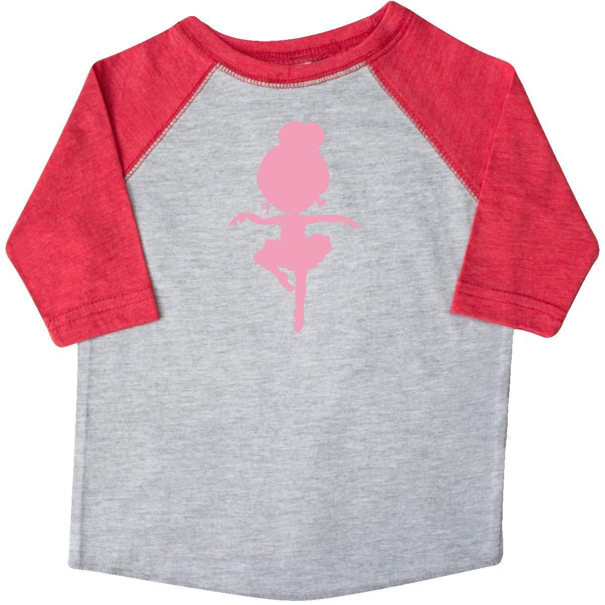 inktastic Dancing Ballerina Toddler T-Shirt