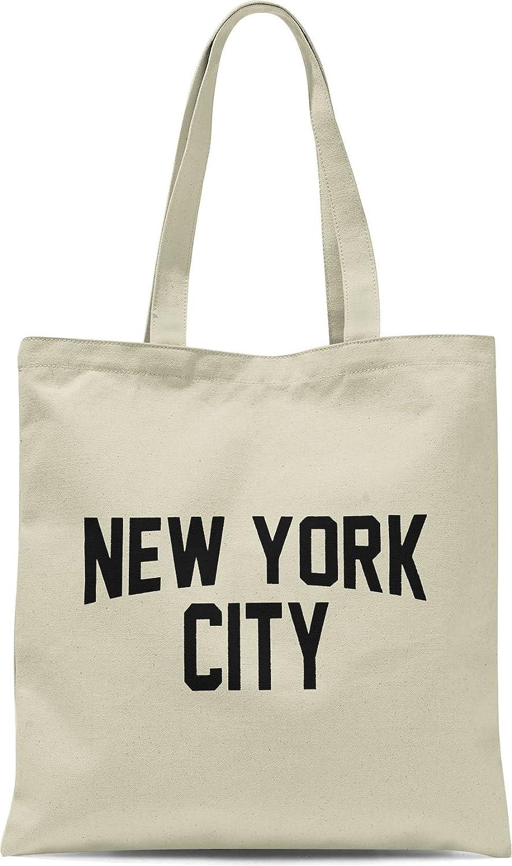 お手頃価格 NYC ToteバッグNew York City ブラック 100 York %コットンキャンバスScreenprintedイベントNYC 15