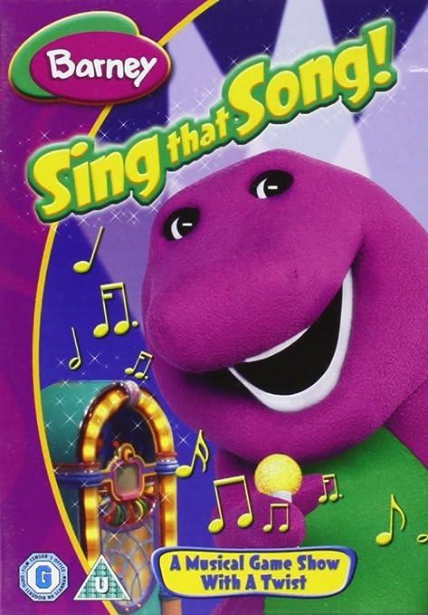 Barney - Sing That Song [Reino Unido] [DVD]: Amazon.es ...