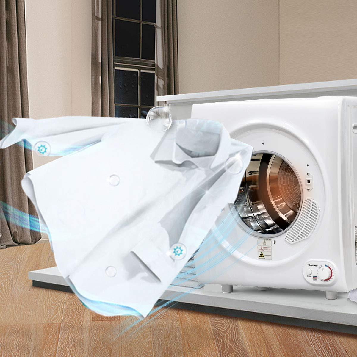 costway secado ablufttrockner Secadora wärmepumpentrockner/4 kg/75 ...