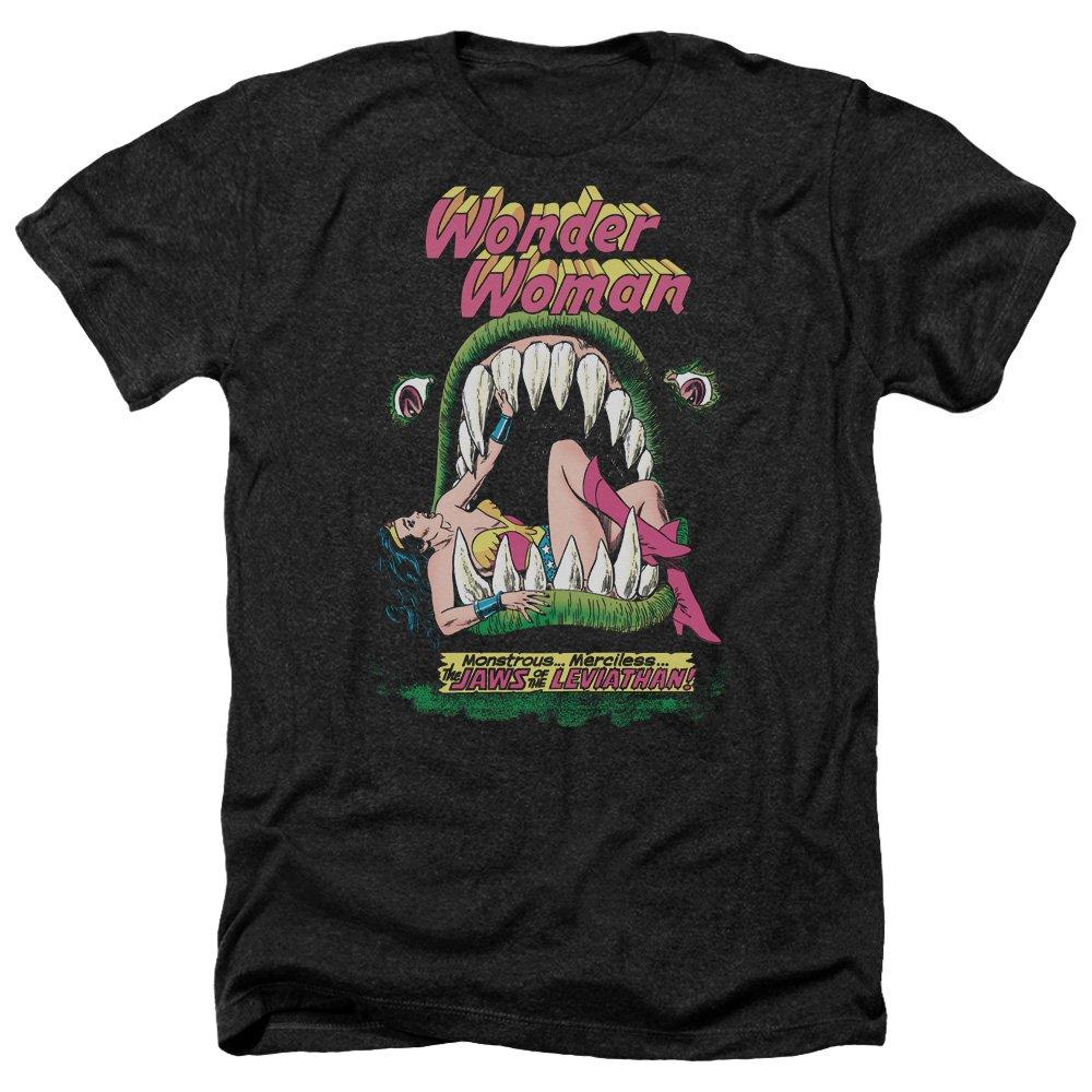 Dc Comics S Jaws Heather T-shirt