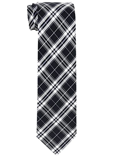 Retreez Herringbone Stripe Woven Boys Tie 8-10 years Various Colors