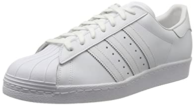 outlet store d9369 bc9bc adidas Superstar 80s, Chaussures de Gymnastique Homme, Blanc Cassé FTWR  White Core Black