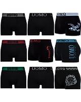 Lot de 5/10 L&K Boxers Seamless microfibre - Homme - YHUVA3