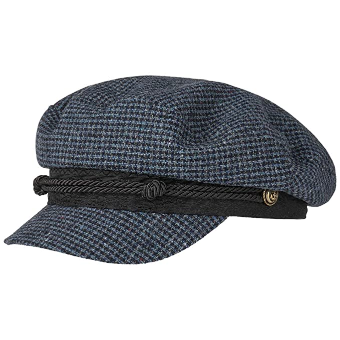 Stetson Gorra Wool Check Riders Mujer - Made in Italy Newsboy de ...