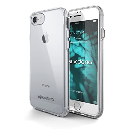 Amazon.com: iPhone 7 Caso, x-doria ClearVue Series – Funda ...