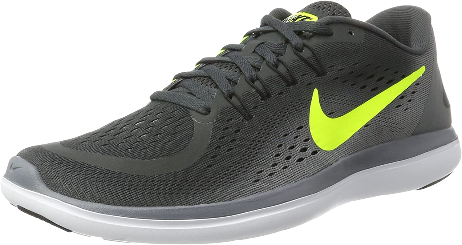 NIKE Men s Flex 2017 RN 10 M US, Anthracite Volt-Cool Grey
