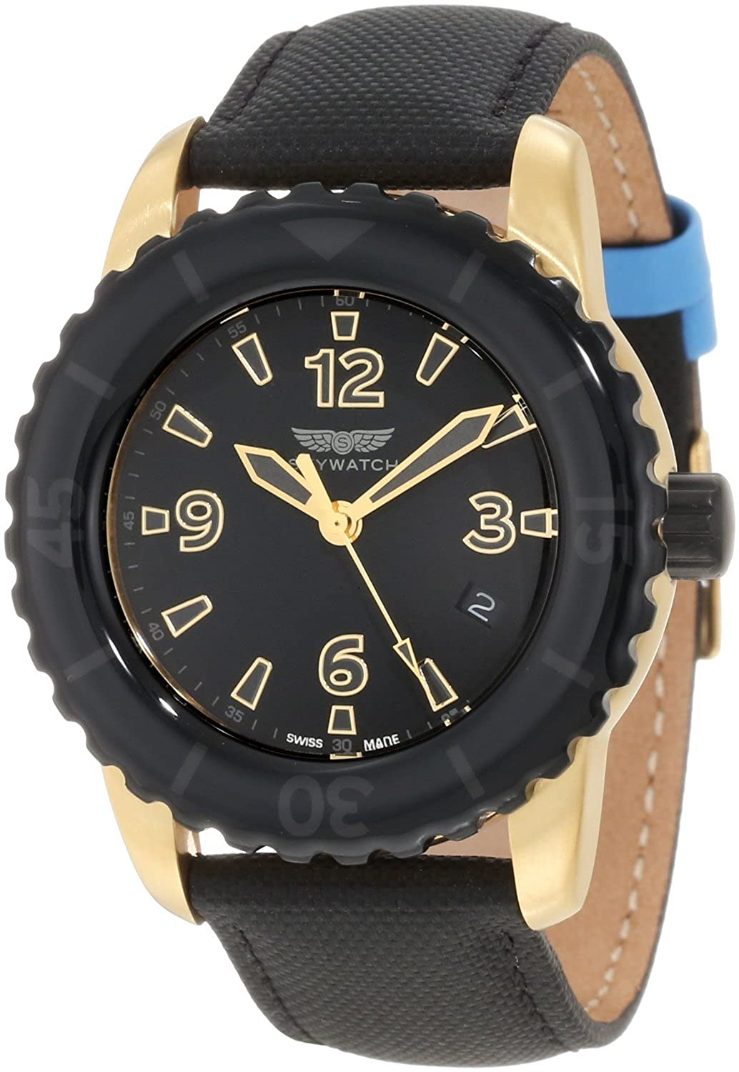 SkyWatch Analog Black Dial Men's Watch - CC1009
