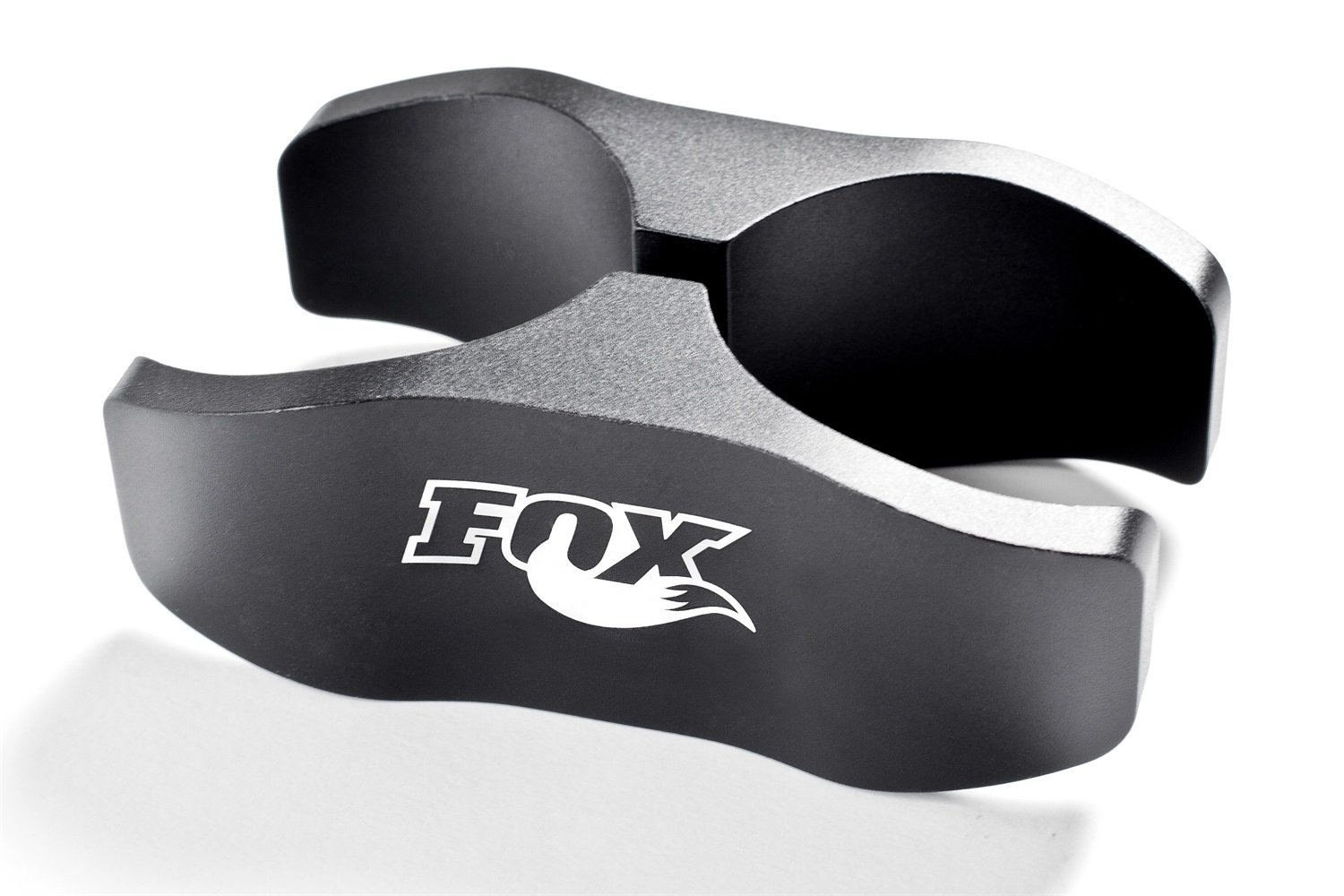 Fox Shocks 803-02-044 Fox 2.0 Shock Absorber Reservoir Mount Clamp; Clamp; Aluminum; Anodized; Laser Etched;