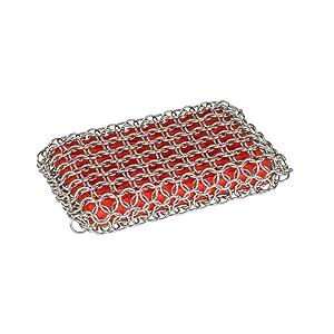 Lodge ACM10R41 Scrubbing pad, One, Red