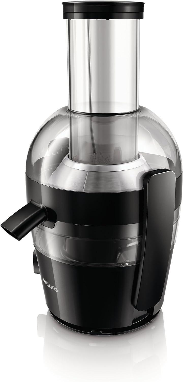 Philips Viva HR1855/70 - Licuadora, 700 W, Facil Limpieza con QuickClean, 1 Velocidadad, Color Negro