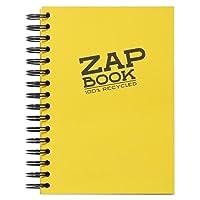 Clairefontaine 8355C Zap Book carnet spiralé 160F 14,8x21cm 80g Couleur Aléatoire