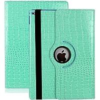 Zerobox Apple iPad 2018 9.7/2017 9.7/iPad Air 2/iPad Air 9.7 inch Case,360 Degrees Rotating Multi Angles Screen Protective Stand with Auto Sleep/Wake Smart Cover