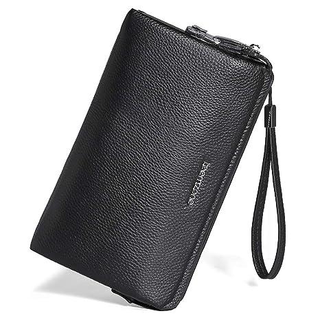 Portemonnaie Männer RFID Schutz Mit Schloß Herrentasche