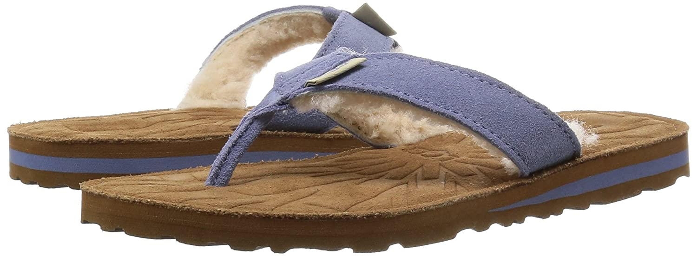 88d4a3196dd Amazon.com | UGG Women's Tasmina Stonewash Suede Sandal | Flip-Flops