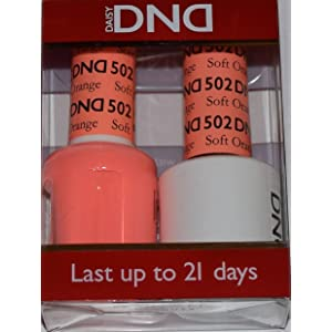 DND Gel & Matching Polish Set (502 - Soft Orange)