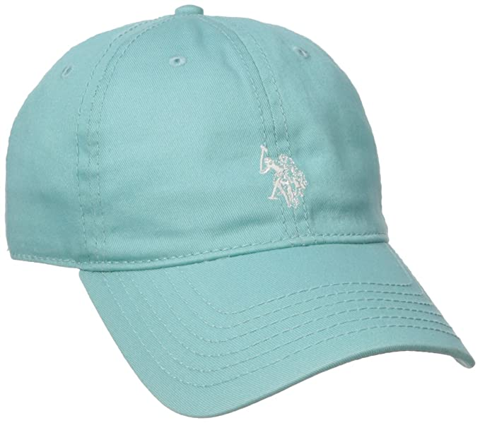 b869a94e1 US Polo Assn. Women's Washed Baseball Cap, Curved Brim, Adjustable