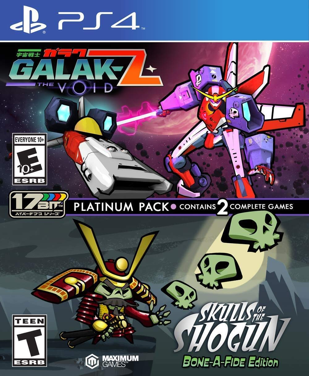 GALAK-Z: The Void / Skulls of the Shogun Bone-A Fide Platinum Pack (PS4) - PlayStation 4
