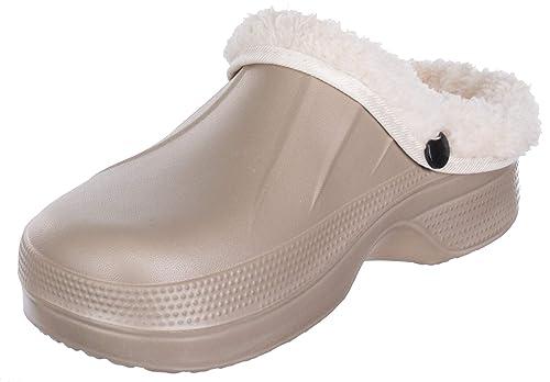 6055d87bf7a0a Brandsseller Unisex Children s Clogs Lined Slippers Shoes Garden ...