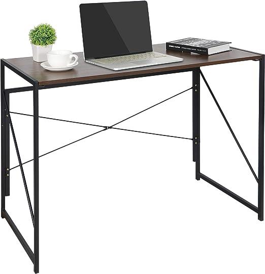 Portable Wood Computer Desk PC Laptop Table Workstation Home Office Furniture