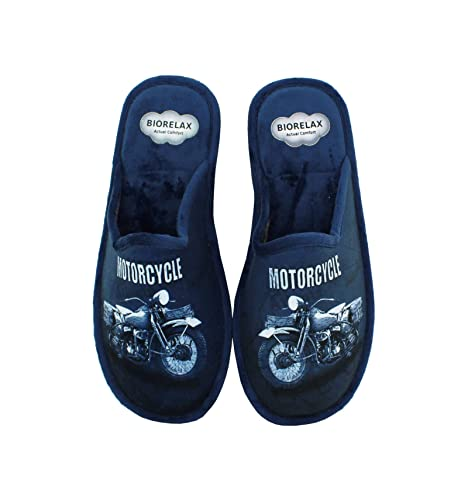 Zapatillas Biorelax - Hombre Detalle Moto: Amazon.es: Zapatos y complementos