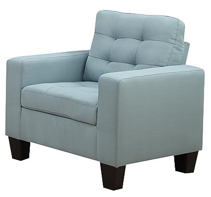 Superbe Furniture World Aston Armchair, Turquoise