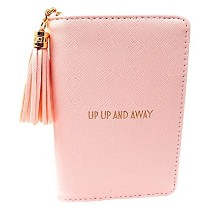 112521a93 Shine Bright Pink Passport Cover - Up Up and Away  Amazon.co.uk  Kitchen    Home