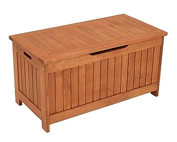 Kissenbox Mit Deckel Aus Eukalyptus Holz 88x45x45 Fsc Zertifiziert