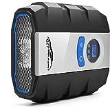 Compresor para neumáticos digitales QZT DC 12V Compresor de aire portátil digital con lámpara LED…