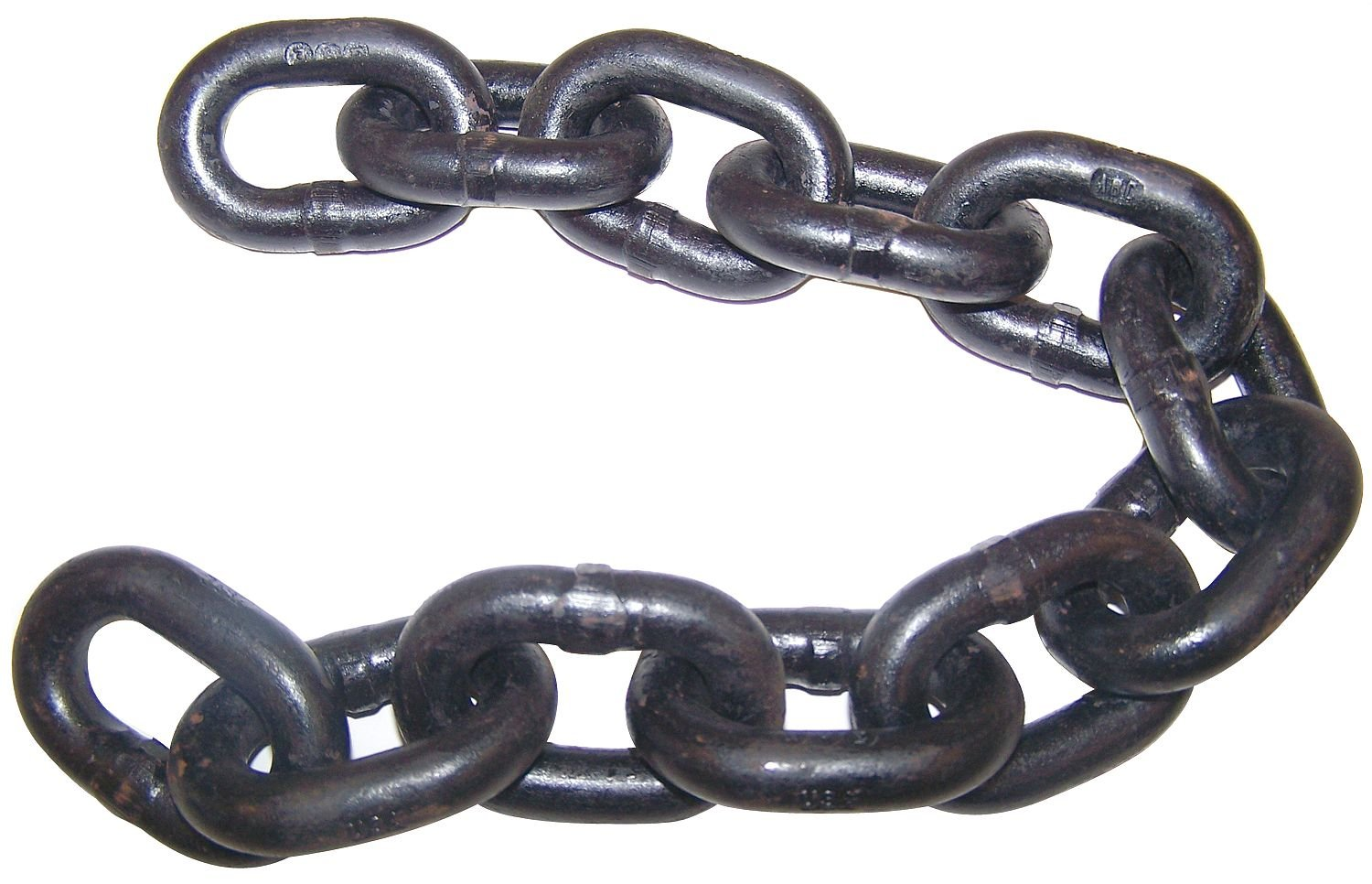 Chain, Grade 80, 3/8 Size, 40 ft., 7100 lb.