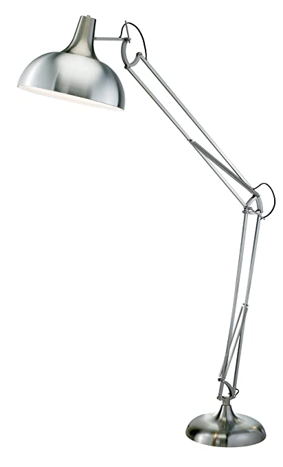 Adesso 3366 22 atlas floor lamp adjustable night lamp in satin adesso 3366 22 atlas floor lamp adjustable night lamp in satin steel smart aloadofball Images