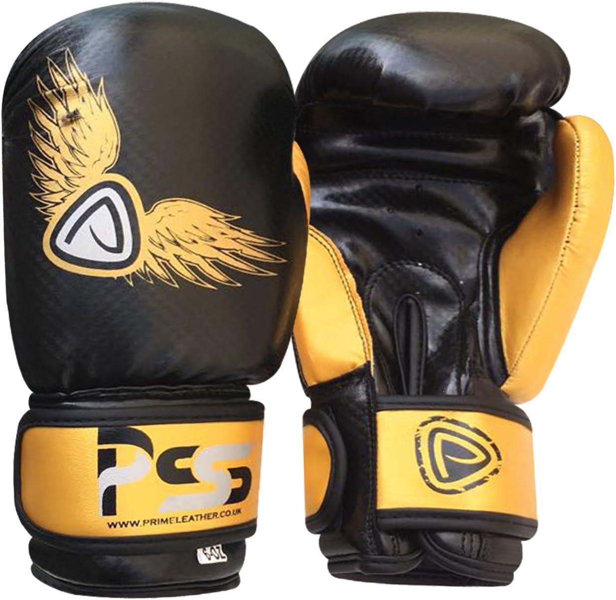 6oz//4oz Kids Boxing Gloves Rex Leather Hand Mad Muay Thai Kick Boxing Punching