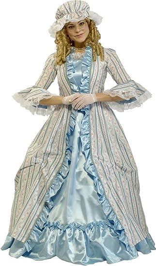 Masquerade Ball Clothing: Masks, Gowns, Tuxedos Rubies Costume Co Womens Grand Heritage Martha Washington $54.16 AT vintagedancer.com