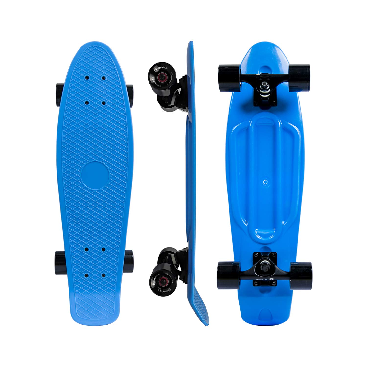 SHINPORT Cruiser Skateboard 27 Inch Complete for Adults Youth Kids Beginners Commuting Rolling Cruising Campus Skateboard Include T-Tool